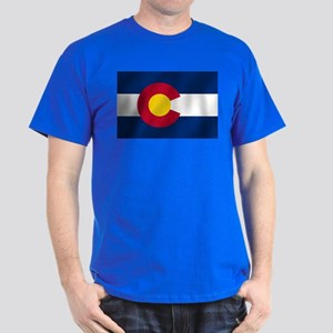 Flag of Colorado Dark T-Shirt